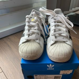 adidas superstar size 6 gs or size 7.5 us women